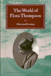 The World Of Flora Thompson. pub. 1998
