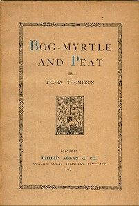 Bog-myrtle and Peat. pub. 1921