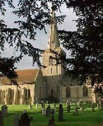 St. Giles Church Bredon.